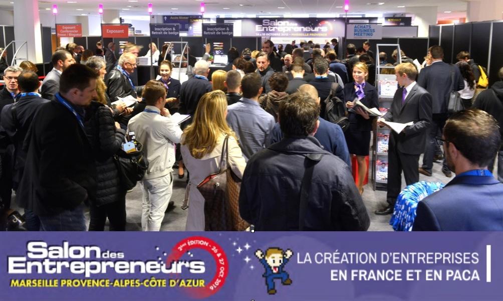 2 me salon des entrepreneurs marseille provence alpes c te for Salon des entrepreneurs paris 2016