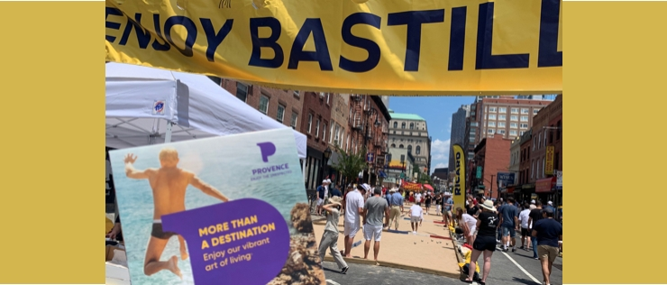 Bastille Days : le CRT Provence-Alpes-Côte d'Azur en force à New York !