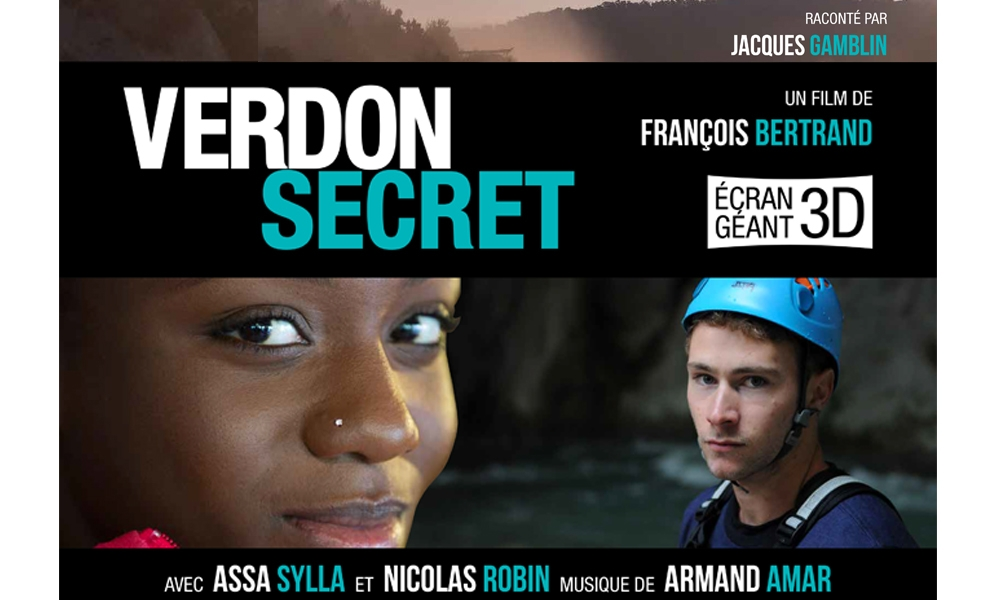 Le film Verdon Secret 3D